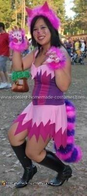 Coolest Cheshire Cat Costume 5