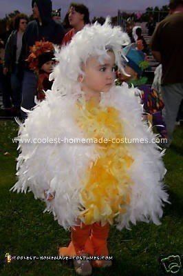 Fluffy Chicken Costume