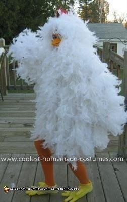 Homemade Chicken Costume