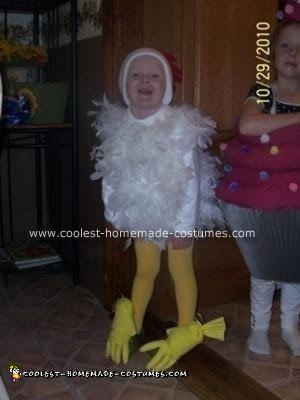 Chicken DIY Halloween Costume Idea