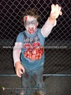 Coolest Child Zombie Costume 53