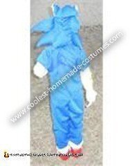 Homemade Child's Sonic The Hedgehog Costume