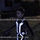 Homemade Child's Tron Legacy Costume