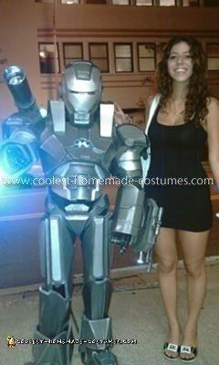 Homemade Child's War Machine Costume