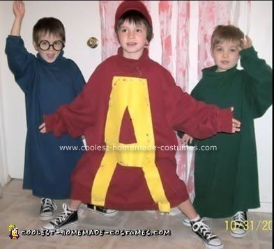 Alvin & The Chipmunks Costume