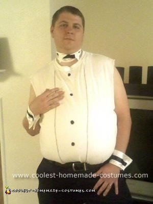 Homemade Chris Farley Chippendale Costume
