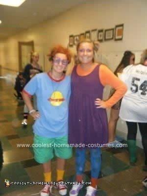 Homemade Chuckie Finster Costume