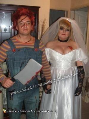 Chucky and Bride Couple Costume