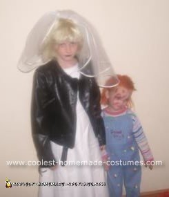 Homemade Chucky and Bride of Chucky Costumes