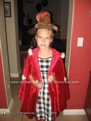 Homemade Cindy Lou Who Costume