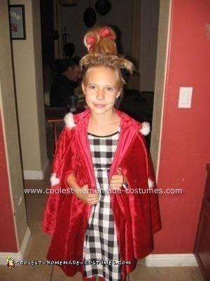 Homemade Cindy Lou Who Costume