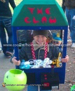 Homemade Claw Machine Costume