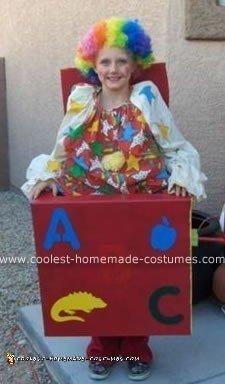 Clown in the Box Costume