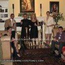 Homemade Clue Cast Group Costume