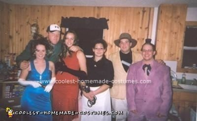 Homemade Clue Game Group Costume