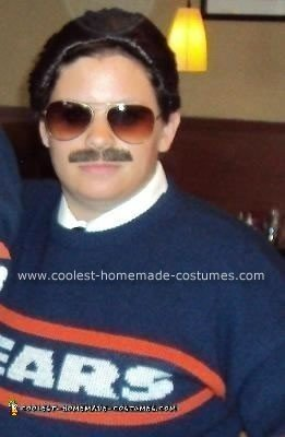 homemade coach mike ditka halloween costume