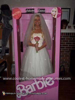 Homemade Collector Edition Wedding Barbie Costume
