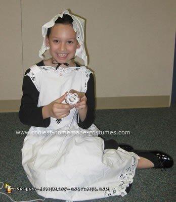 Homemade Colonial Girl Costume