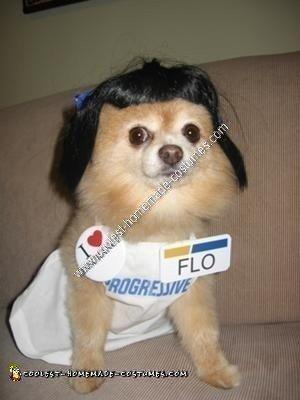 Darci as Flo, the Progressive Insurance Commercial Girl