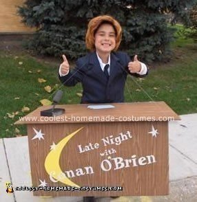 Homemade Conan O'Brien Costume