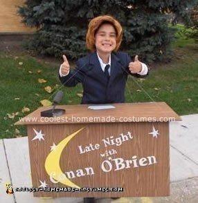 Homemade Conan O'Brien Costume