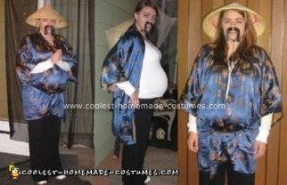 Homemade Confucius Mother to Be Costume