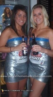 Homemade Coors Light Costumes