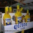 Homemade  Corona 6-Pack Group Costume