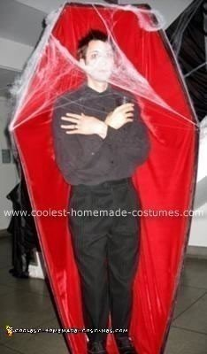 Homemade Corpse in a Coffin Costume