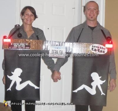Coolest Couples Mud Flap Costume 2