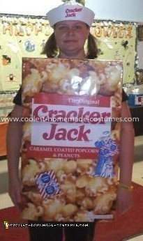 Coolest Cracker Jack Box Costume