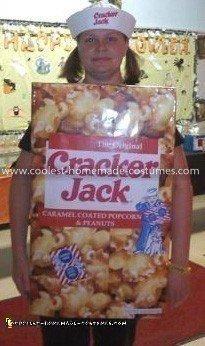 Coolest Cracker Jack Box Costume