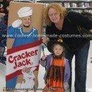 Homemade Cracker Jacks Costume