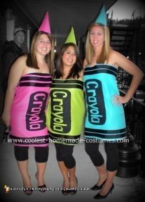 Crayola Crayons Halloween Costume