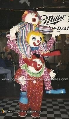Crazy Clowns Costume