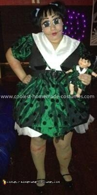 Coolest Creepy Doll Costume