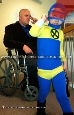Homemade Cyclops from X-Men Costume