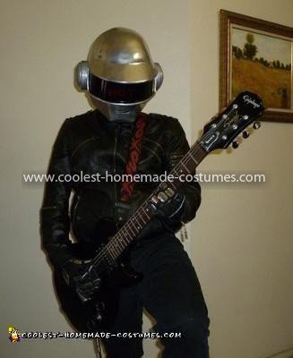 Coolest Daft Punk Thomas Costume 3