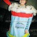 Homemade Dairy Queen Blizzard Costume