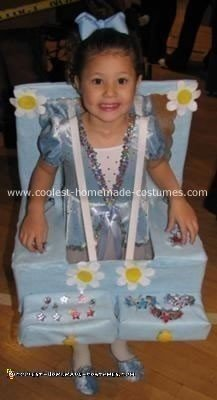 Homemade Dancer in a Jewelry Box Costume