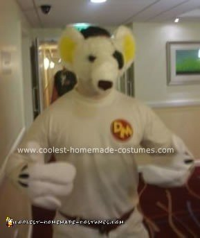 Homemade  Danger Mouse Costume