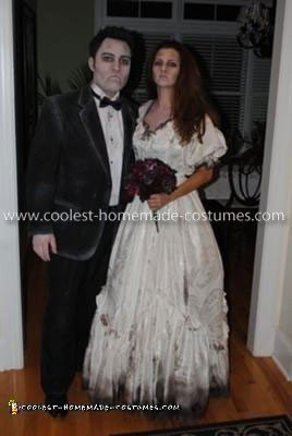 Homemade Dead Bride And Groom Costume