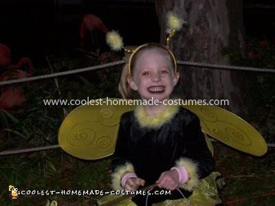 Homemade Dead Bumble Bee Costume
