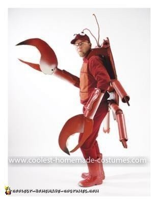 Homemade Deadliest Catch aka Crab Man Costume