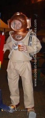 Homemade Deep Sea Diver Halloween Costume