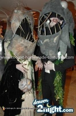 Coolest Deep Sea Fish Costume - This picture was taken at the Marriot Halloween party
