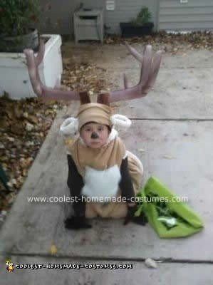 Homemade Deer Costume