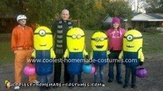 Coolest Despicable Me Minion Group Costume