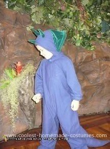 Dinosaur Kid Homemade Costume