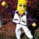 Coolest Disco Dude Lego Minifigure Costume